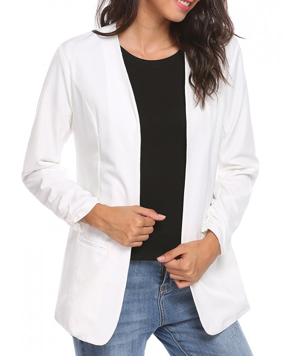 Unibelle Womens Casual Shirring Cardigan