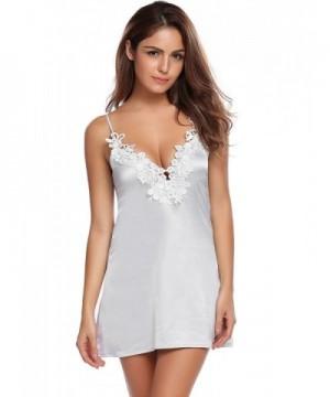 Skylin Nightdress Sleepwear Lingerie Nightgown  Discount Real Women s  Nightgowns ... a9fb8bf4a