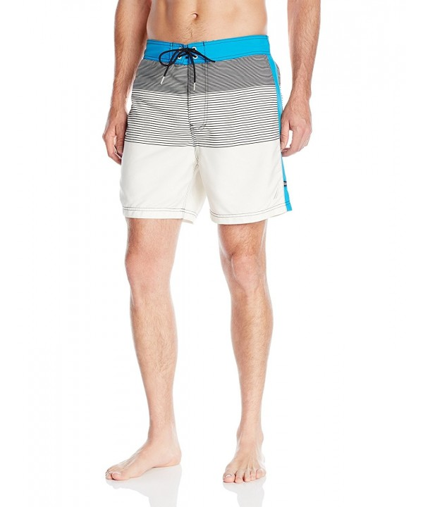 Nautica Quick Engineered Stripe Trunk