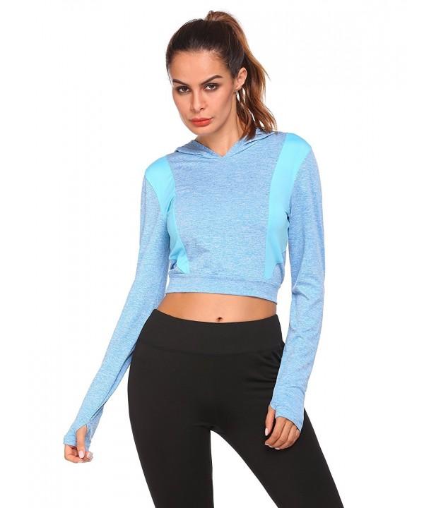 COORUN Womens Jersey Patchwork Pullover
