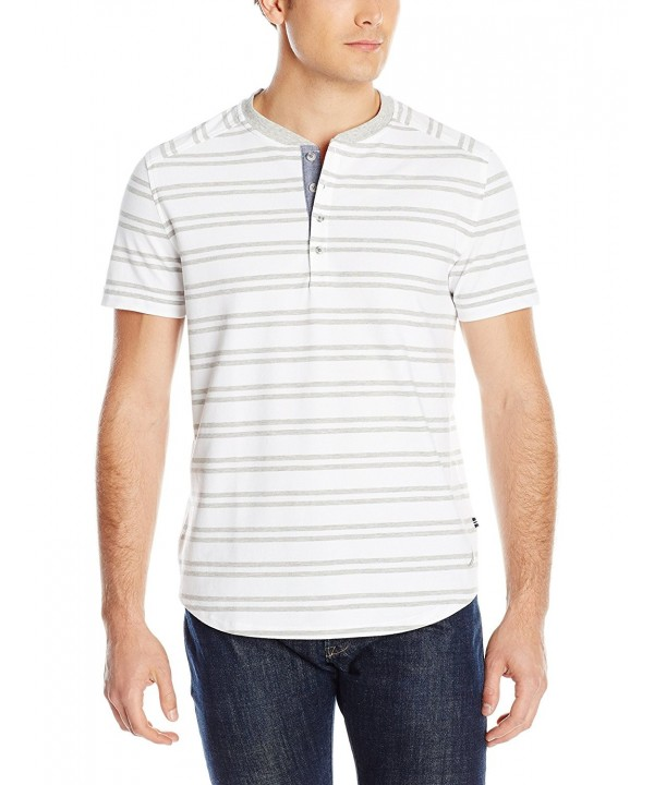 Nautica Stretch Stripe Henley Bright