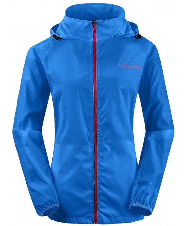 Wantdo Windbreaker Packable Contrast Outdoor