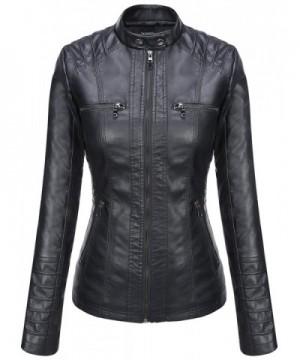 Fashion Women's Leather Coats Online Sale