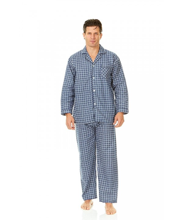Sutton Place Flannel Pajama Sleepwear