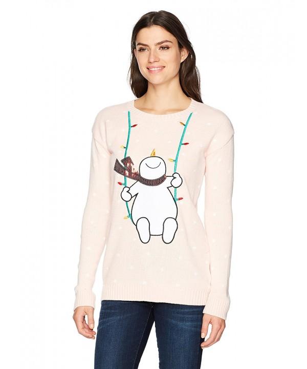 Allison Brittney Christmas Snowman Sweater