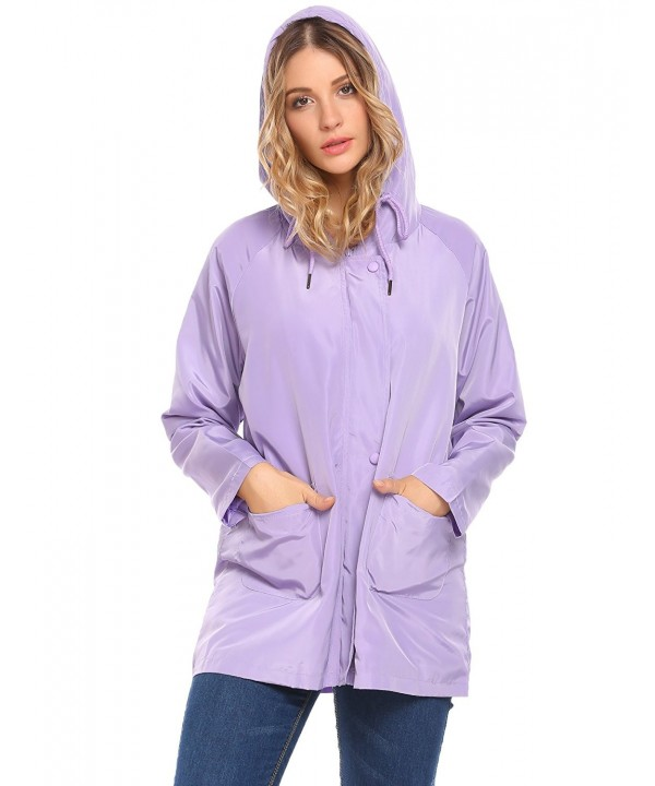ELESOL Raincoat Waterproof Outdoor Lightweight