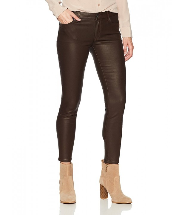 Denim Crush Womens Coated Jegging
