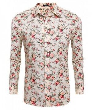 Simbama Floral Sleeve Casual Button