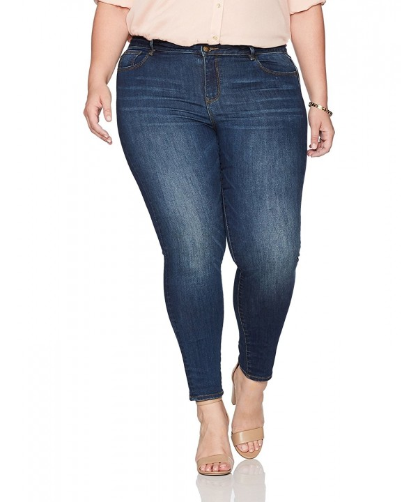 Denim Crush Womens Skinny Tinted