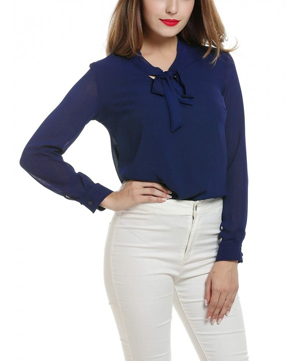 Hufcor Long Sleeve Breathable Chiffon Pullover