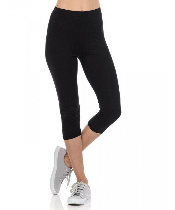 bluensquare Womens Leggings Streched Cropped
