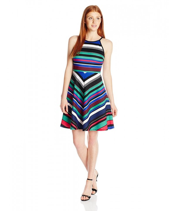 XOXO Juniors Halter Printed Stripe