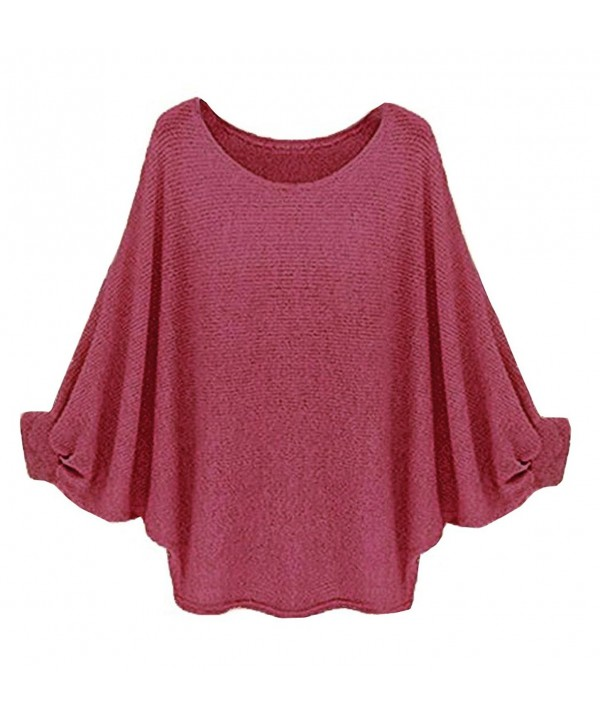 Suimiki Womens Batwing Pullover X Large
