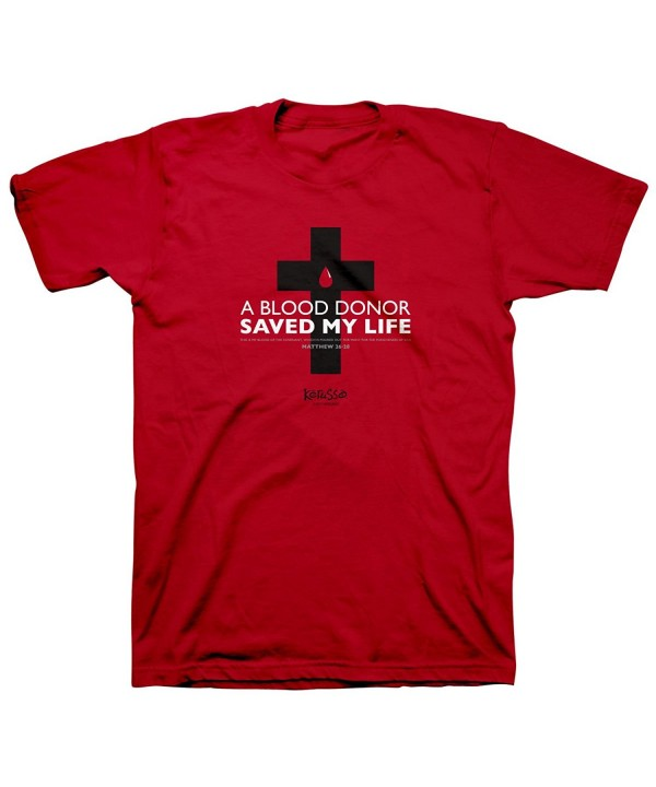 Blood Donor Saved Life Tee