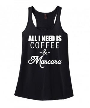 Comical Shirt Ladies Coffee Mascara