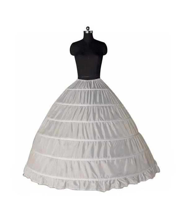 VIVIANSBRIDAL Petticoat Crinoline Petticoats Off White
