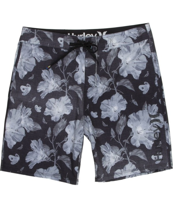 Hurley Phantom Flora Boardshorts Black