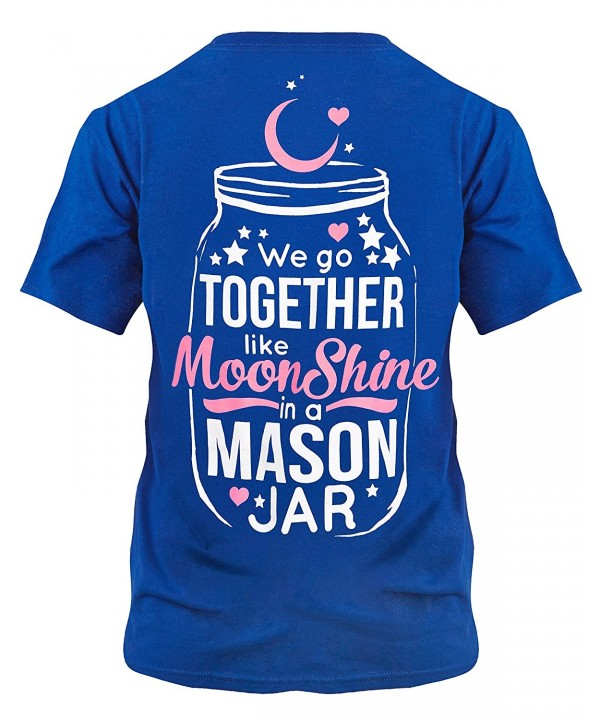 Cute Country Shirt Together Moonshine
