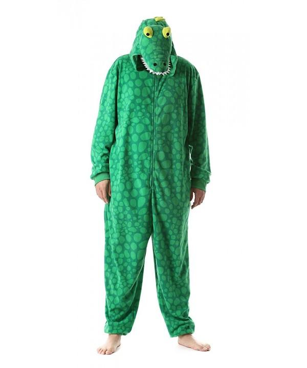 bf6a296aa619 Adult Onesie Mens Pajamas Alligator - Gator - CU1859N8NTA