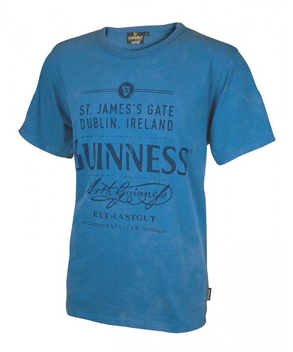 Guinness Cotton Jamess Ireland T Shirt