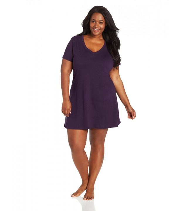 Jockey Womens Plus Size Sleep Eggplant