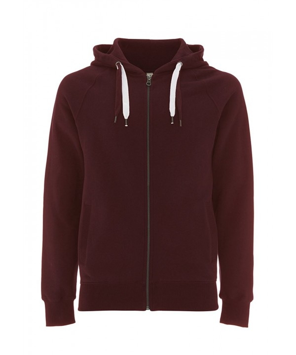 Claret Red Hoodie Men Sweatshirt