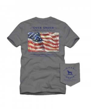 Over Under Patriotism Sleeve Tee Small