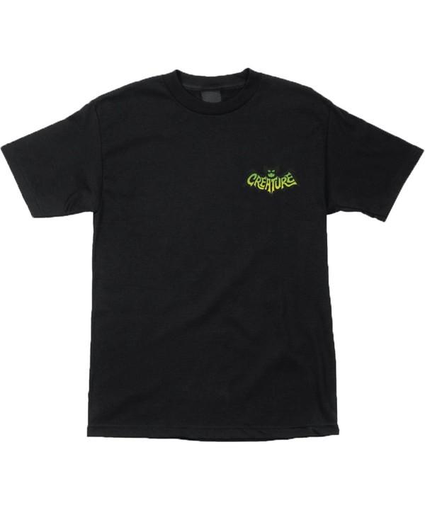 Creature Regular Short Sleeve Shirts X Large