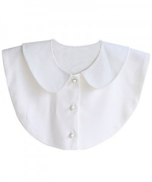 Womens Peter Button Detachable Collar